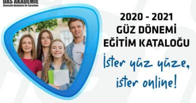 2020-2021 Güz Dönemi