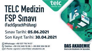 TELC Medizin FSP Sınavı 2021