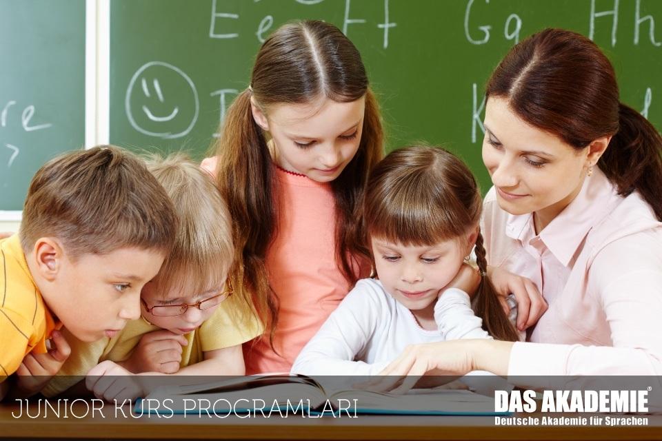 almanca eğitimleri - junior kurs programları