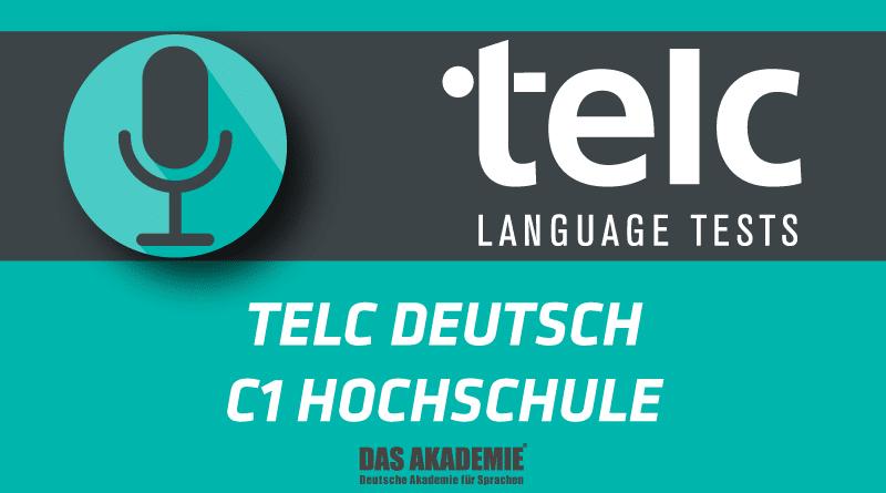 telc deutsch c1 hochschule